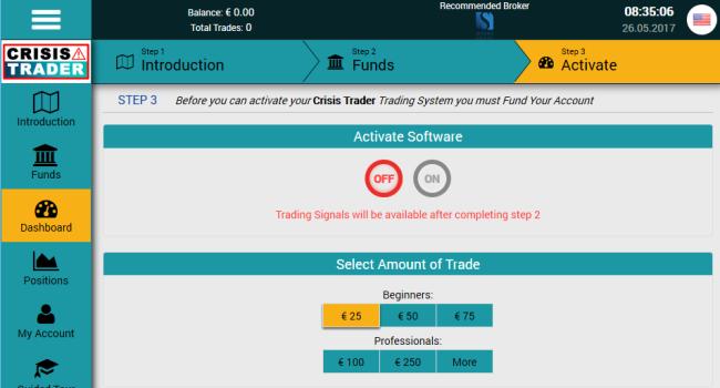 Crisis Trader Binary Auto Trading Software