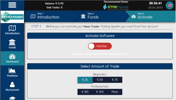 HexaTrader Software
