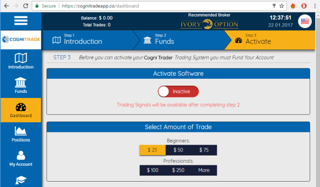 Cogni Trader Software