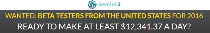 Gemini2 November 22nd Update