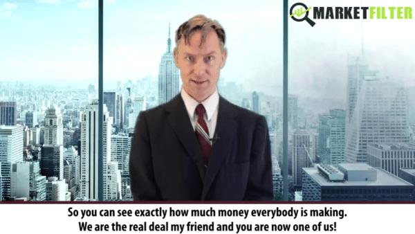 Market Filter Software Video