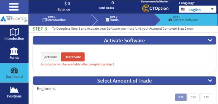 Profit Replicator App for Forex