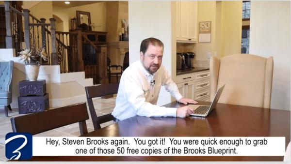 Brooks Blueprint Scam Video