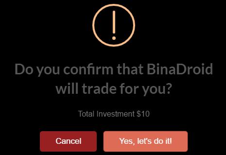 BinaDroid Warning