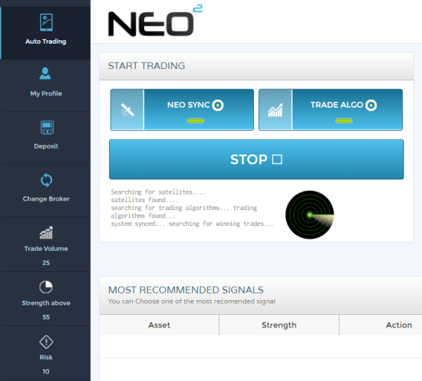 NEO2 Trading Software