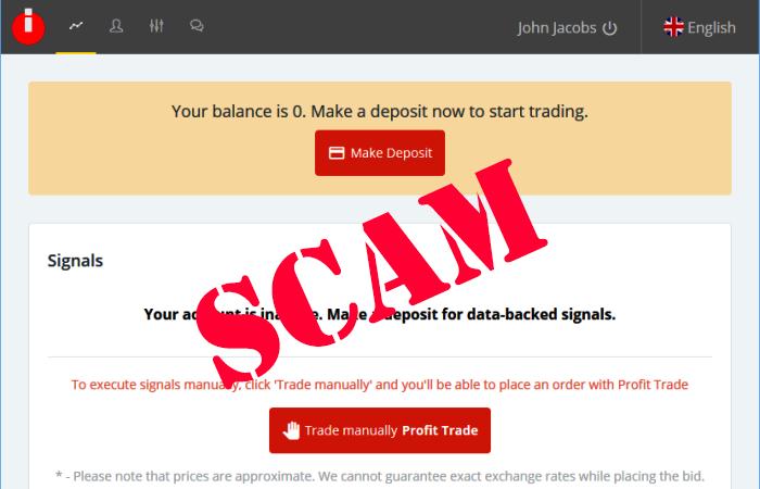 Indicator Pro Trading Signals Scam