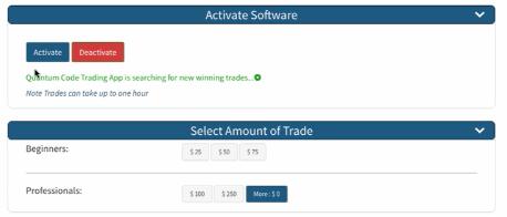 Quantum Code Trading Software