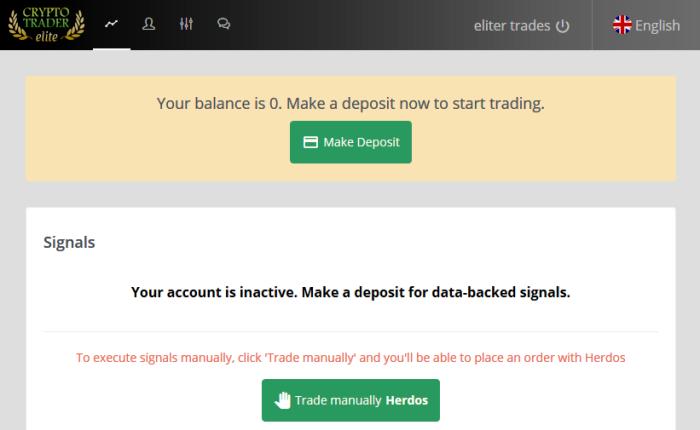 Crypto Trader Elite Software
