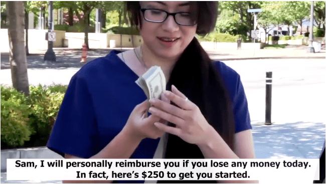Snap Cash Binary Scam Trading Robot
