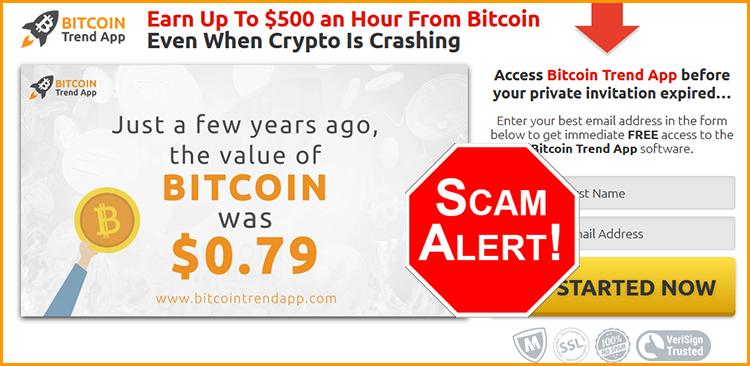 BitcoinTrendApp Official Scam