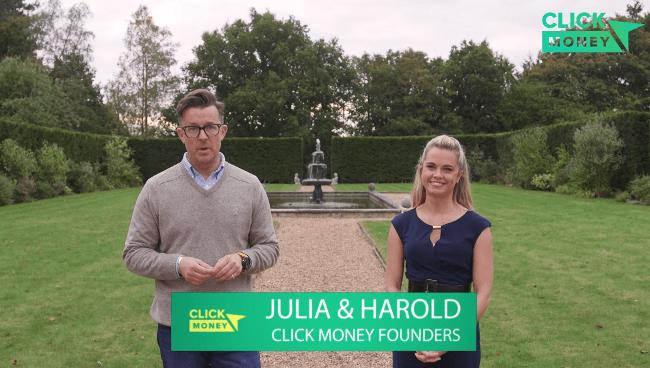 Click Money System Founders Julia & Harold