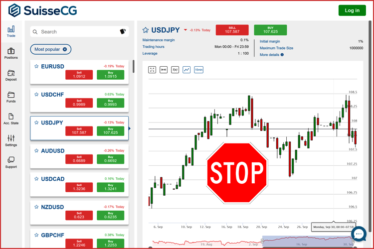 SuisseCG Trading Platform
