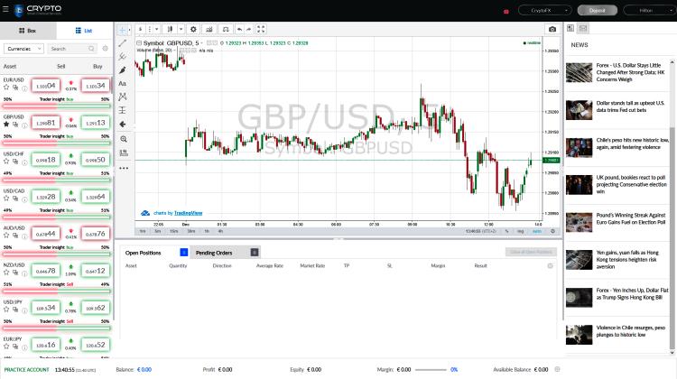 Crypto SFS Brokers Trading App