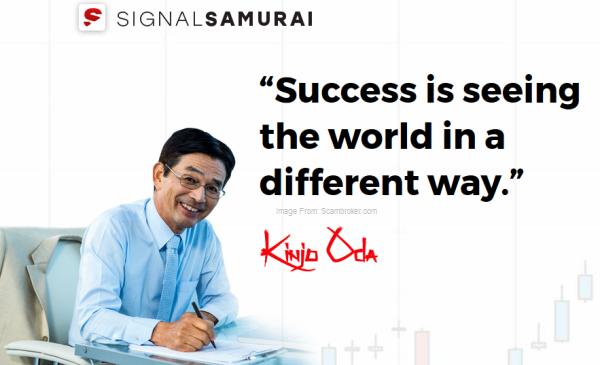 Signal Samurai Kinjo Oda Tokyo