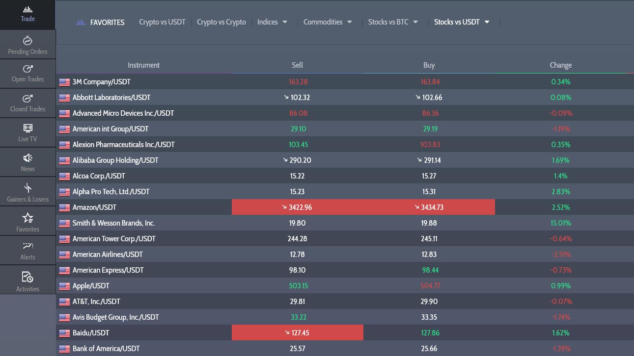 Goldver Broker Trading App