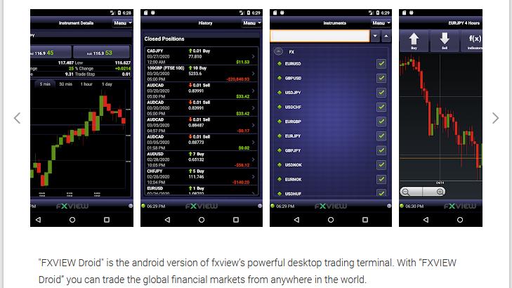 FXView Trading App